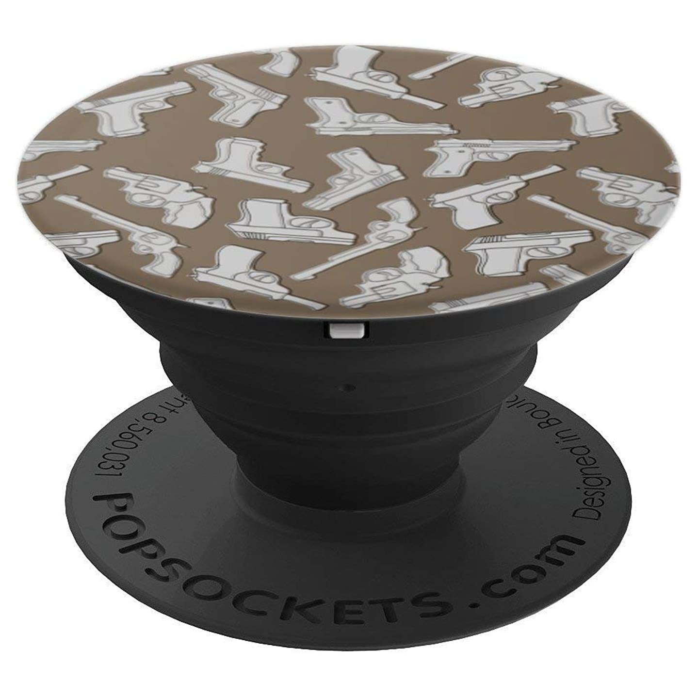 Guns Pop Top Giant Grip Knobs Thingy Gift. - PopSockets Grip and Stand for Phones and Tablets