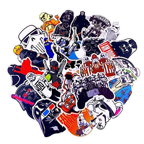 YRBB 50 stuks stickers voor kinderen om zelf te maken creatieve stickers graffiti voor skateboard bagage gitaar laptop koelkast auto sticker dodle