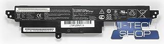LI-TECH Batería Compatible 2900mAh para ASUS Vivo Book X200MA-KX435H Negro Notebook 32Wh
