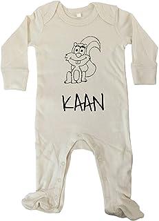 JOllify JOllipets Baby Strampler Langarm - KAAN - 100% BIO - Variante: Tiere Zoo