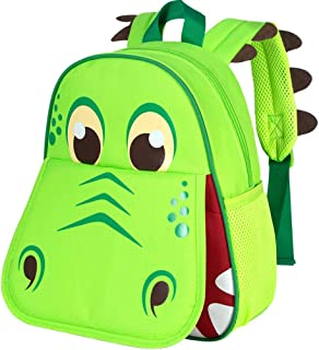 "Toddler Backpack, 14.5"" Dinosaur Backpacks for Boys"