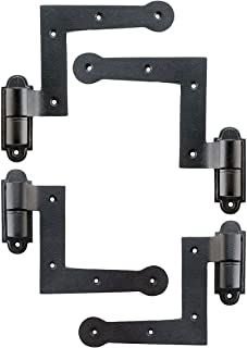 Set of Cast Iron New York Style Shutter Hinges with 1 1/2