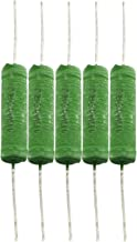 Tegg 5 PCS Fixed Type Axial Leaded Wire Wound Resistors 10W 10 Ohm 5% - coolthings.us