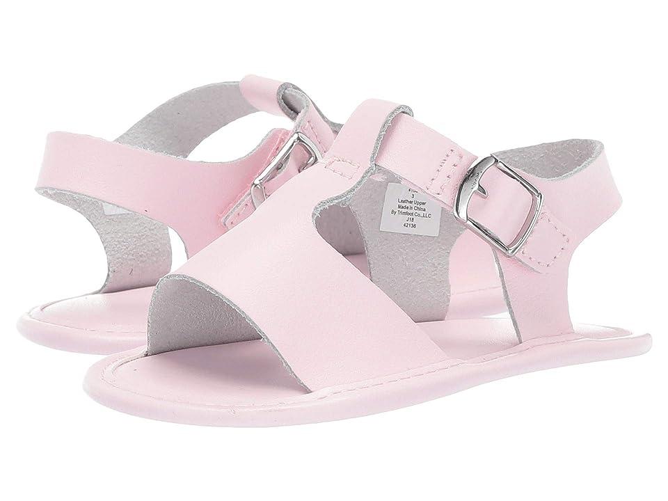 Baby Deer Leather T-Strap Sandal Waddle (Infant) (Pink) Girl