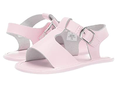 Baby Deer Leather T-Strap Sandal Waddle (Infant) (Pink) Girl