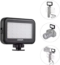 30 LED Video On Camera Light, Sevenoak Brightness Adjusting Dimmable Light with Shoe Mount & USB Charge Port for iPhone X 8 7 DSLR Camera Camcorder GoPro Action iOS Android Smartphones Party YouTube