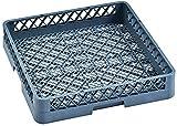 My-Gastro - Cesta universal para escurrir los platos, para cubiertos y piezas pequeñas de lavavajillas, bandeja para lavavajillas finamente trenzada, 50 x 50 cm