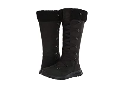 Timberland Mabel Town Tall Mukluk Waterproof Boot (Black Nubuck) Women