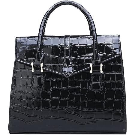 NIYUTA Damenhandtaschen Mode Schultertaschen Lackleder Shopper Reise Freizeit Umhängetaschen