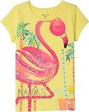 Nautica Toddler Girls' Fashion Silhouette Graphic Tee Shirt