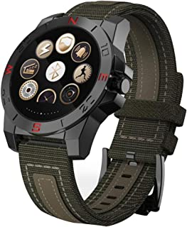 Ejolg IP67 Impermeable Pulsera de Actividad Inteligente,con Compás,Pulsometro, Podómetro y Otras Funciones.Soporte Múltiples Idiomas,Reloj Inteligente Hombre Mujer,Unisex,Silver
