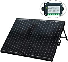 ECO-WORTHY 120 Watt 12Volt Off Grid Monocrystalline Portable Foldable Solar Panel..