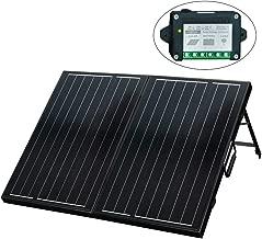 ECO-WORTHY 120 Watt 12Volt Off Grid Monocrystalline Portable Foldable Solar Panel..