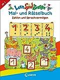 LernSpielZwerge - Mal- und Rätselbuch - Zahlen und Sprachvermögen