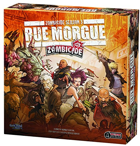 Cool Mini or Not 901433 - Zombicide Season 3 - Rue Morgue, Brettspiel