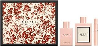 Gucci 3 Piece Bloom Eau de Parfum Spray Gift Set for Women
