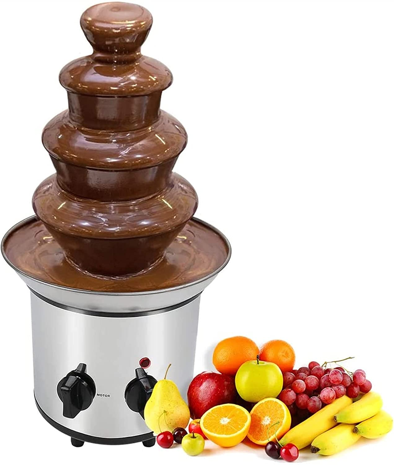 Cholate Fondue Fountain Chocolate Discount Special price for a limited time is also underway Warming Melting 4-Tier Machine