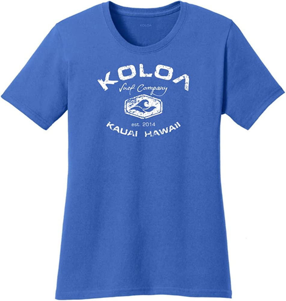 Recommendation Koloa Spasm price Surf Ladies Arch Logo in T-Shirts Sizes XS-4XL Cotton