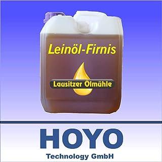 Leinölfirnis 5 Liter Leinöl Firnis Lausitzer Holzschutz doppelt gekocht und harzfrei