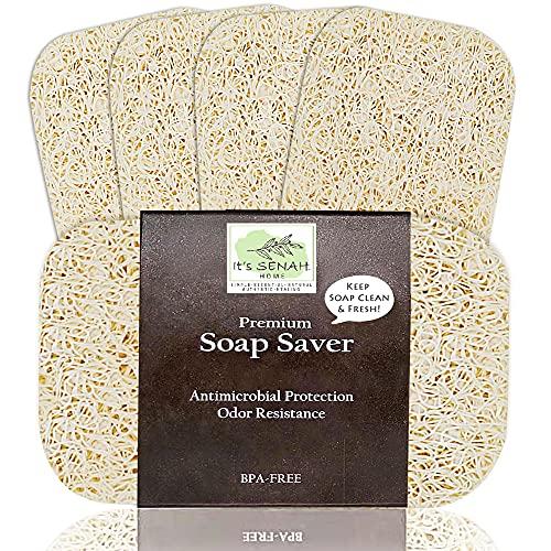 It's Senah [4Pack Keep Soap Clean & Fresh Soap Saver Set |...