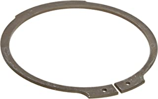 Standard External Retaining Ring, Tapered Section, Axial Assembly, 1060-1090 Carbon Steel, Phosphate Finish, 2-1/8