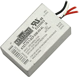 75 watt 120 volt Dimmable Halogen Transformer - 1 Pack