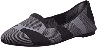 Women's Cleo-Sherlock-Engineered Knit Loafer Skimmer Ballet Flat