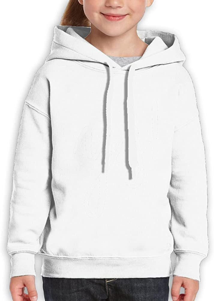 DTMN7 Yes White Fashion Printed 100/% Cotton Hoodie For Teen Girl Spring Autumn Winter