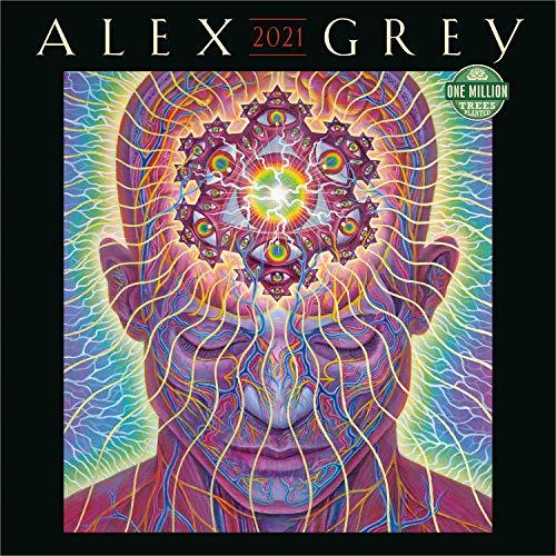 Alex Grey 2021 Wall Calendar