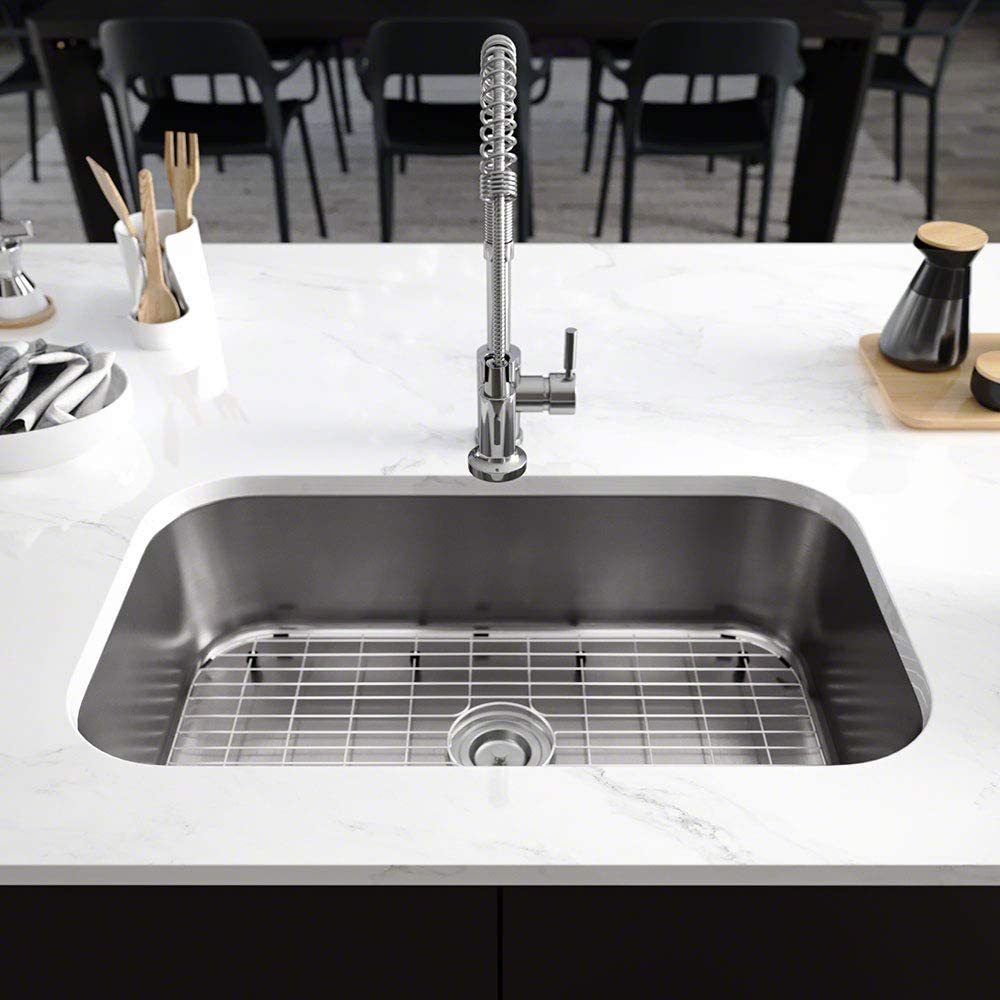 R1-1021-16 Stainless Steel Kitchen Sink in Dealing full price reduction Cutting Free shipping anywhere the nation with 16-Gauge