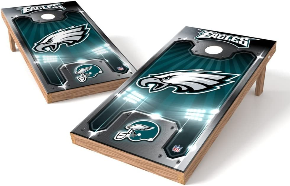 PROLINE NFL Philadelphia Eagles New products world's highest quality popular 2'x4' Board Plate - Set Cornhole Free shipping / New