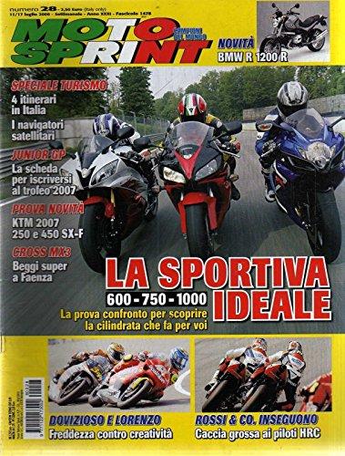 Motosprint 28 Luglio 2006 Bmw R 1200 R, Honda CBR 1000 RR, Yamaha R6
