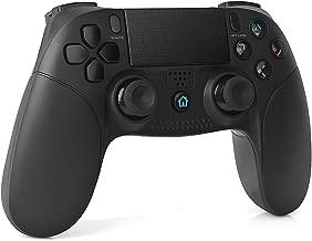 TUTUO PS4 コントローラー 無線 タイプ ワイヤレス ゲームパッド 振動Dualshock4 重力感応 6軸機能 Bluetooth接続 タッチパッド イヤホンジャック 充電ケーブル 付き PlayStation4 / PS4 Pro/Slimに対応