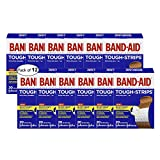 J&J Band-Aid Fabric Tough Strips One Size (Pack of 12)