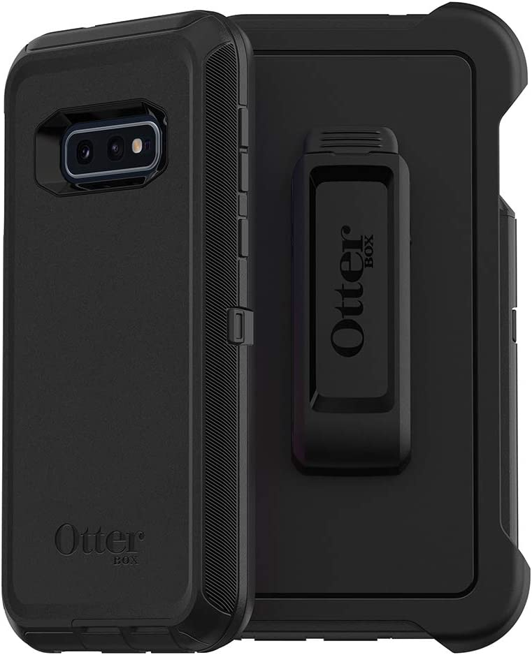 OtterBox DEFENDER SERIES SCREENLESS EDITION Case for Galaxy S10e - BLACK