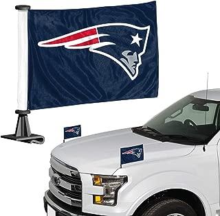 ProMark NFL New England Patriots Flag Set 2-Piece Ambassador Style, Team Color, One Size