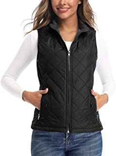 Women's Vests - Padded Lightweight Vest for Women, Stand...