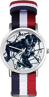 Venom - Reloj de ocio para adultos, moderno, hermoso y personalizado, de aleación, casual, deportivo, para hombres y mujeres