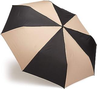"totes Auto Open Auto Close umbrella, NeverWet technology, Adults Family Jumbo Umbrella 55"" Coverage, Black And Tan"