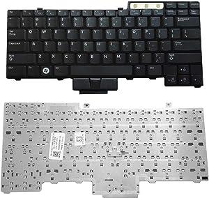 haixclvyE Pro US Keyboard Laptop Keyboard Replacement for Dell E6400/E6500/E6410/E6510/M4500/0UK717/UK717