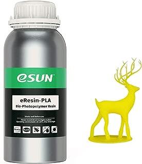 eSUN 3D Printer bio Resin for LCD 3D Printers, 500g eResin-PLA Yellow