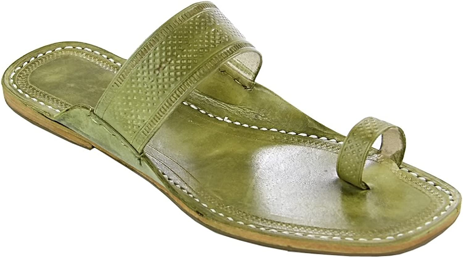 Original kolhapuri chappal Breathtaking seaweed embossed straight belt for women slipper sandal