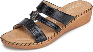TRASE 44-075 | Doctor | Ortho | Cushion | Soft | Slippers for Women