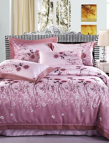 GAOHAIFQ®, hueco de algodón lluvia 4 pieza sábanas de algodón ropa de cama de la boda textil colcha de cama / 2.0m juego de cama-1.5m, king