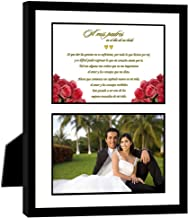 Poetry Gifts Parents Thank You Wedding Gift in Spanish from Bride or Groom - Add Photo