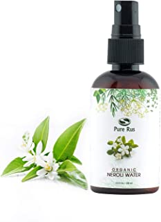Pure Rus Organic Neroli Water for Face, Skin and Hair, 100ml