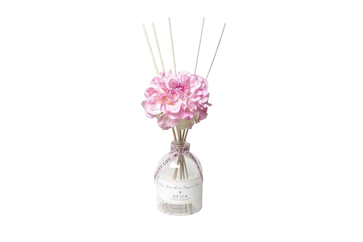 一定花瓶凍ったDEICA スィートパティオ フラワーデコール アロマフレグランスディフューザー パウダリーピンク(リードディフューザー)