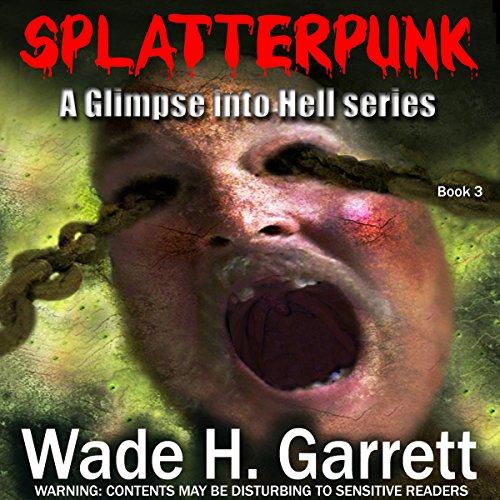 Splatterpunk audiobook cover art