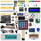 Freenove RFID Starter Kit V2.0 con Scheda V4 (Compatibile con Arduino IDE), Tutorial Dettagliato di 266 Pagine, 198 Articoli, 49 Progetti, Apprendimento della Programmazione e Dell'elettronica