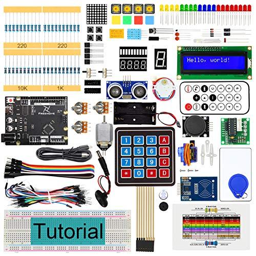 Freenove RFID Starter Kit V2.0 con Placa V4 (Compatible con Arduino IDE), Tutorial Detallado de 266 Páginas, 198 Artículos, 49 Proyectos, Programación de Programación y Electrónica